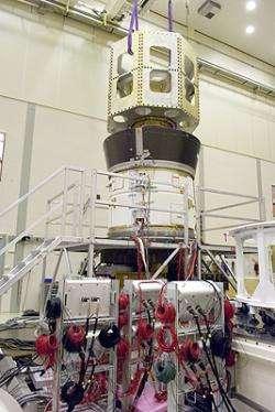 Vega upper composite passes tests at ESTEC