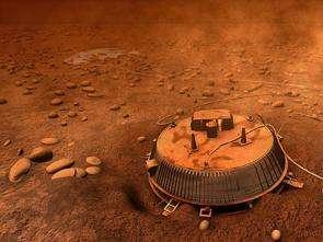 Titan's pebbles 'seen' by Huygens radio