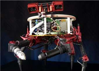 Limber Robot Might Hitchhike to Space