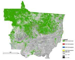 Growth in Amazon Cropland May Impact Climate and Deforestation Patterns