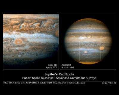 Jupiter's Little Red Spot Growing Stronger