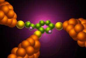 Physicists invent 'QuIET' - single molecule transistors