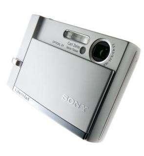 Cyber-shot camera DSC-T30