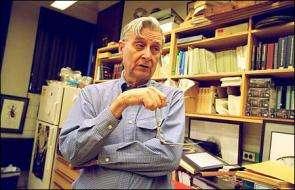 Life has a future; Naturalist E.O. Wilson is optimistic