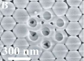 Tiniest modified opals ready to manipulate light flow as photonic crystals