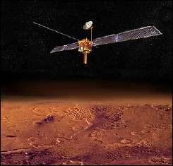 NASA artist\'s conception image shows the Mars Reconnaissance Orbiter (MRO)
