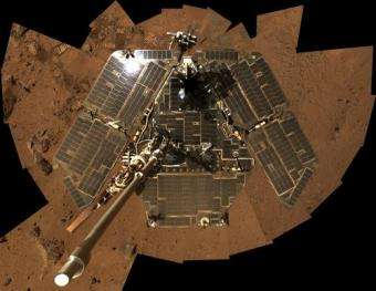 Spirit's Solar Panels Still Shiny After All This Time