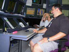 Inside BaBar's Control Room