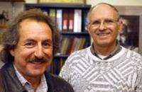 Eldred Chimowitz (left) and Yonathan Shapir (PHOTO CREDIT: University of Rochester)