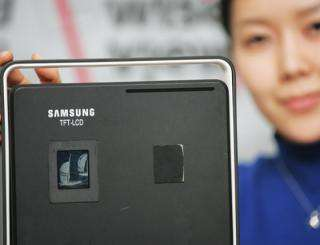 Samsung Develops 1.72'' Super-reflective LCD Screen for Cell Phones