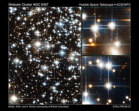 Hubble Sees Faintest Stars in a Globular Cluster