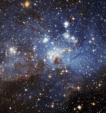 Celestial Season's Greetings from Hubble