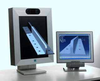 The Free2C display shows the design engineer's projects and designs in 3D at the click of a button