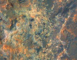 NASA Orbiter Reveals New Details of Mars, Young and Old