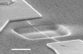 Researchers make world's smallest piano wire