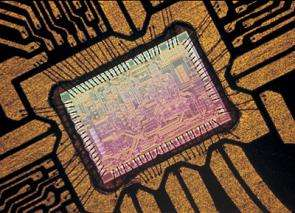 Two DVDs per second: a tiny chip processes data at extremely high speed