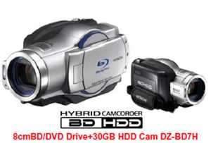 Hitachi Unveils the World's First Blu-Ray Disc Camcorder