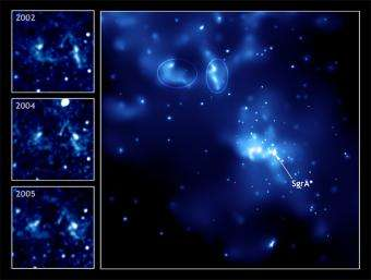Chandra Discovers Light Echo from the Milky Way's Black Hole
