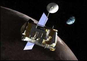 Lunar Reconnaissance Orbiter spacecraft