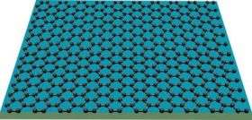 Sheet of carbon atoms acts like a billiard table, physicists find