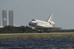 Shuttle Discovery Returns to Earth After Successful Mission