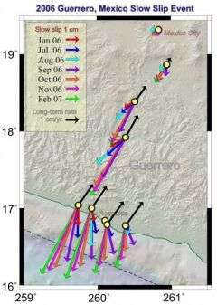 2006 tectonic plate motion reversal near Acapulco puzzles earthquake scientists