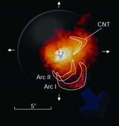 Astronomers Discover Supergiant Star Spews Molecules Needed for Life