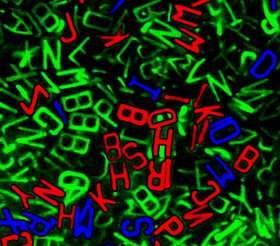 Scientists create microscopic alphabet