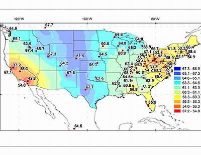 Scientists Map Air Pollution Using Corn Grown In Us Fields - Air-pollution-us-map