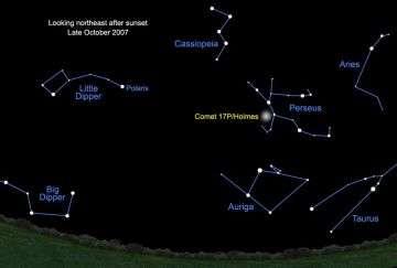 Catch a Comet - No Telescope Required