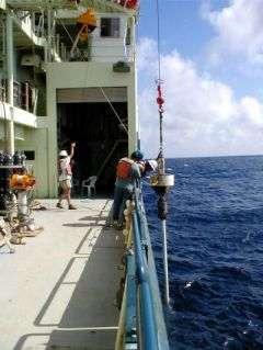 Deep Sea Sediment Core Vessel