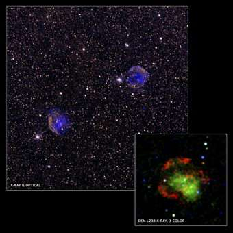 X-ray Evidence Supports Possible New Class Of Supernova