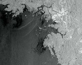 Envisat captures South Korea's crude oil leak