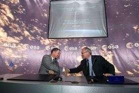 ESA and NASA sign agreement on James Webb Space Telescope, LISA Pathfinder