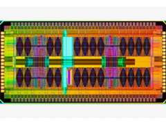 IBM eDRAM test chip