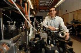 Iowa State engineer develops laser technologies to analyze combustion, biofuels