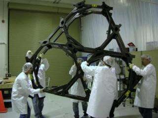 James Webb Space Telescope's 'spine' passes health tests