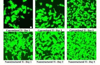 Nanotextured implant materials: blending in, not fighting back