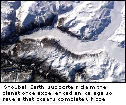 New evidence puts 'Snowball Earth' theory out in the cold