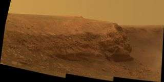 Opportunity's Second Martian Birthday at Cape Verde