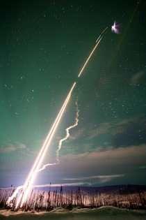 Clemson rocket launches test Alaskan auroras