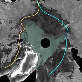 Satellites witness lowest Arctic ice coverage in history