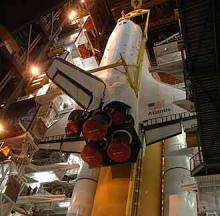 Space Shuttle Closer to Launch