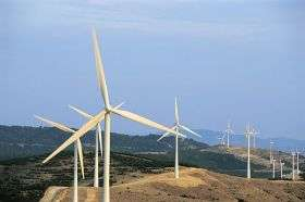 Study finds that linked wind farms can result in reliable power