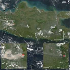 Study shows earthquakes may quickly boost regional volcanoes