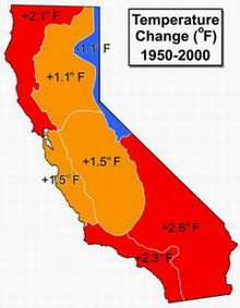 Golden State Heating Up, Study Finds