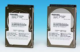 Toshiba's New 320GB 2.5-inch HDD Offers Industry's Largest Storage Capacity