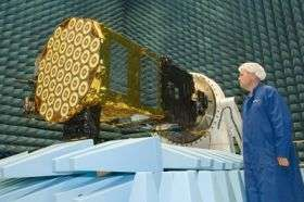 Two years in space for Galileo satellite
