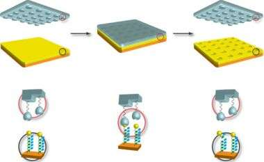 Using catalysts to stamp nanopatterns without ink