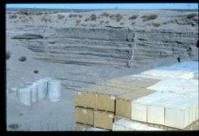 Where does stored nuclear waste go?